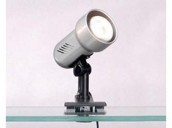 Светильник для рамочных стендов на прищепке